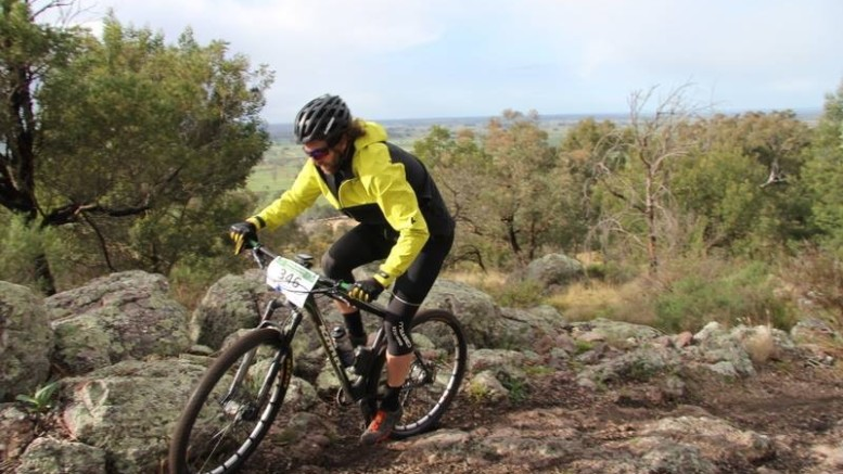 Double jacket wearing. Pic - Gippsland MTB club